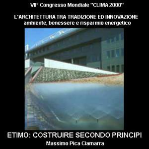 """VII Congresso Mondiale """"Clima 2000"""""""