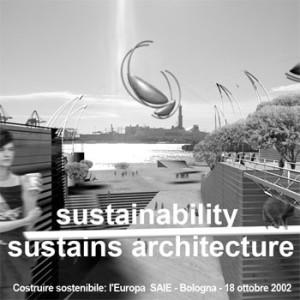susainability / sustains architecture