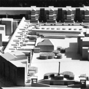 1980 – Berlino, Residential park on Lutzowplatz