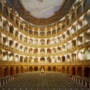 1985 – Pavia, Restauro Teatro dei 4 Cavalieri (A. Galli Bibiena, 1771/73)