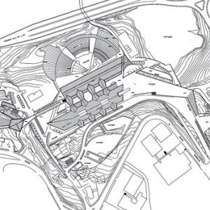 1988 – Campobasso, Planovolumetrico Università del Molise (realizzazione delle Facoltà di Agraria e di Economia nel 1993)