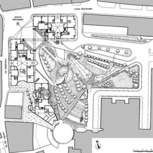 1991/1995 – Napoli, piazza, spazi commerciali e abitazioni a Piscinola Marianella