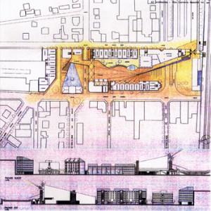 1994 – Sartrouville, Piazza e Centro urbano