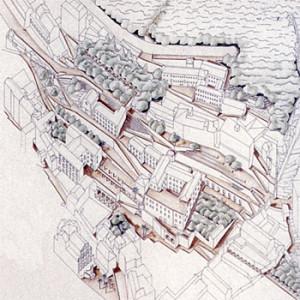 1997 – Salerno, Centro storico ed Edifici-Mondo