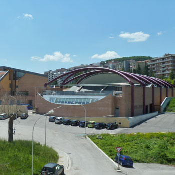 2001 – Campobasso, Palazzo Sport/Foresteria – Università del Molise