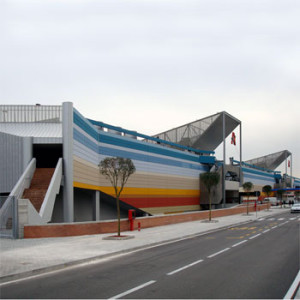 2002 – Napoli, Centro commerciale in via Argine (realizzazione nel 2010)