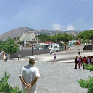 2004 – Barano d'Ischia, Piazza ai Maronti