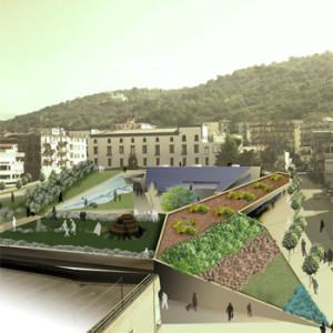 """2009 – Palma Campania, Riqualificazione """"ex Area Mercato e Campo Sportivo"""""""