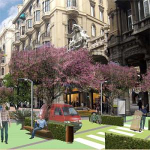 2012 – Genova, riqualificazione dell'area di via XX settembre