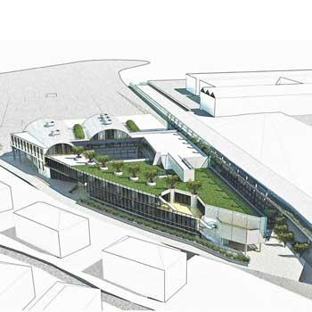 2013 – Vado Ligure, complesso scolastico e Civic Centre
