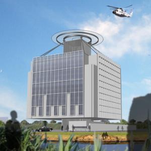 2013 – Baghdad, edificio per uffici,