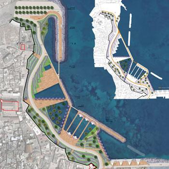2017 – Bari, riqualificazione del waterfront della città vecchia