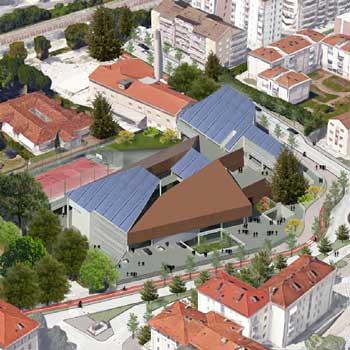 2017 – Trento, nuova sede Liceo Artistico A. Vittoria