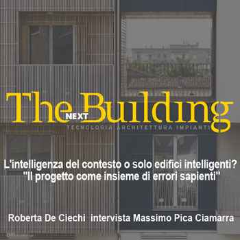 2017 – The Building NEXT tecnologia architettura impianti