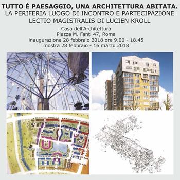 Roma, Casa dell'Architettura 28 febbraio 2018