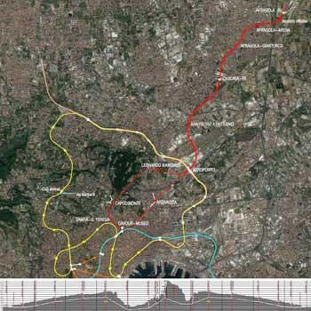 2019 – nuovo collegamento TAV Afragola / rete metropolitana di Napoli